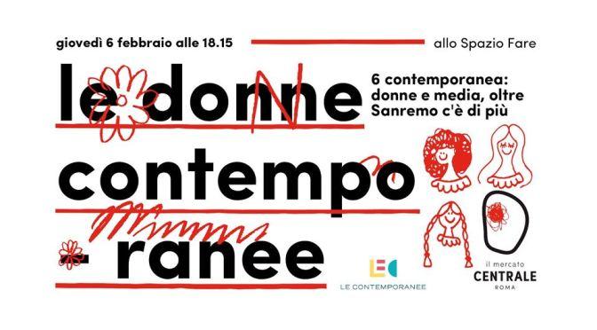 """6 febbraio 2020 """"Le donne contemporanne"""" al Mercato Centrale"""