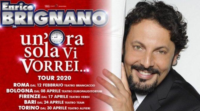 """12 febbraio 22 marzo 2020 """"Un'ora sola vi vorrei"""" al Teatro Brancaccio – rinviato"""