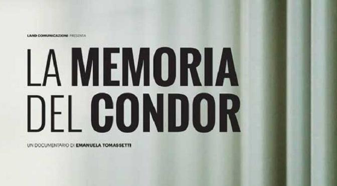 """17 febbraio 2020 """" La Memoria del condor"""" all'Apollo 11"""