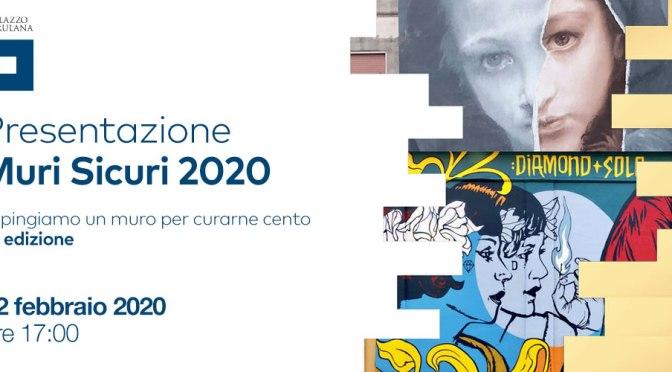 """12 febbraio 2020 Presentazione """"MURI SICURI 2020"""" al Palazzo Merulana"""