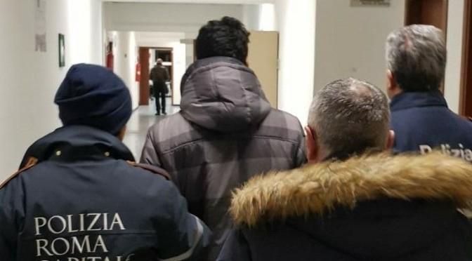Colle Oppio: fermato per furto di cellulare, oppone resistenza agli agenti . Arrestato