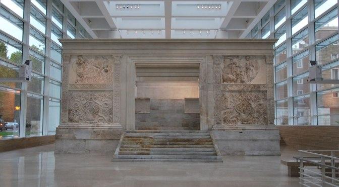 #laculturaincasa Tour virtuale al Museo dell'Ara Pacis #IoRestoACasa