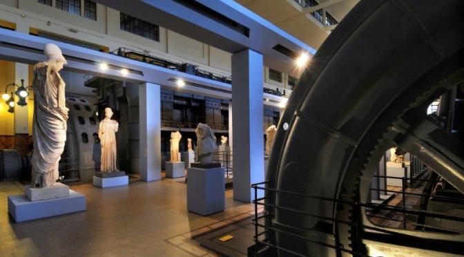"""#LaCulturaInCasa Tour Virtuale nella """"Centrale Montemartini"""" #iorestoacasa"""