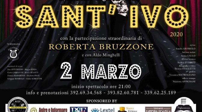 """2 marzo 2020 """"Sant'Ivo il Sanremo degli Avvocati"""" al Teatro Brancaccio"""