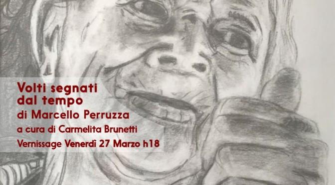 """27 marzo – 2 aprile 2020 """"Volti segnati dal Tempo"""" Solo Show on line sui canali social di Studio Medina Roma"""
