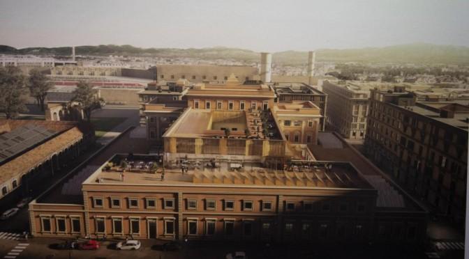 Il punto sui tempi dei lavori di restauro della ex Zecca di Stato