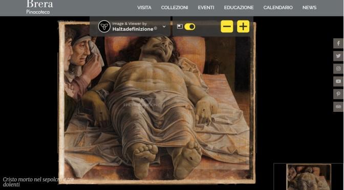 MUSEI / La Pinacoteca di Brera in altissima definizione: online i capolavori con particolari mai visti prima