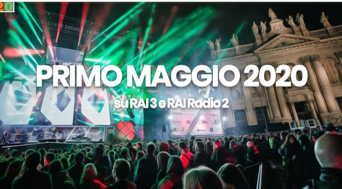 Quest'anno il Concertone del 1 maggio è su RAI3, RAIPlay e RAIRadio2