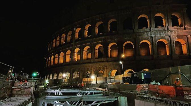 ROMA ARCHEOLOGIA e RESTAURO ARCHITETTURA 2020: Roma Metro C – LA STAZIONE FORI IMPERIALI: AVANZAMENTO LAVORI E ATTIVITÀ IN CORSO / LA STAZIONE FORI IMPERIALI E L'ARCHEOLOGIA. Metro C scpa (13/05/2020).