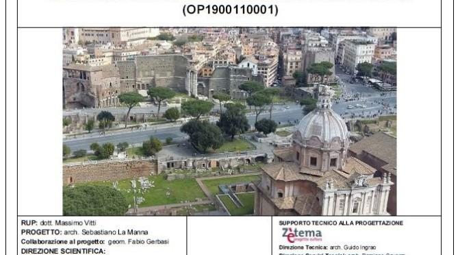 """ROMA ARCHEOLOGIA e RESTAURO ARCHITETTURA 2020. AREA DEI FORI IMPERIALI: SCAVO ARCHEOLOGICO NELL'AREA DEL FORO DI CESARE – RILIEVO ARCHEOLOGICO [in Pdf]. ROMA CAPITALE / Sovrintendenza Capitolina (03/2020). S.v.,  Dott. Arch. Barbara Baldrati, """"FORUM JULII – Il Foro di Cesare,"""" La Sapienza (2002-04) &  Il Foro di Cesare – Scavi – (1995-2020 & 1930-33)."""