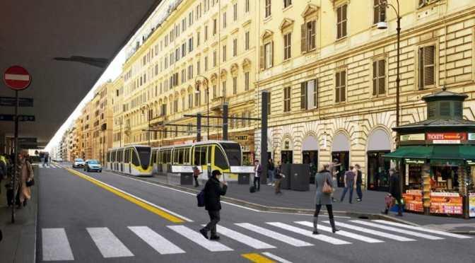 Non tutti sono d'accordo sul progetto del Comune relativo alla nuova linea tranviaria Termini Tor Vergata