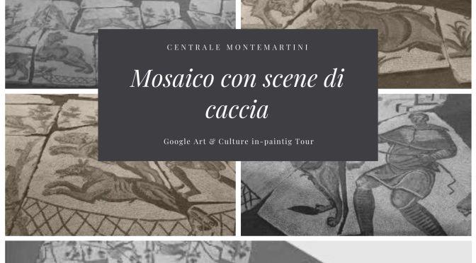 Il Mosaico con scene di caccia alla Centrale Montemartini come non l'avete mai visto
