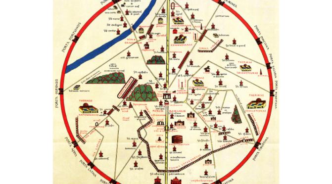 Roma e L'Esquilino nel Medioevo: i 10 itinerari di Einsiedeln
