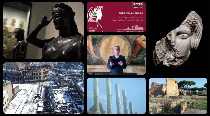Dantedì – Passeggiata dantesca nel Parco archeologico del Colosseo in 12 video