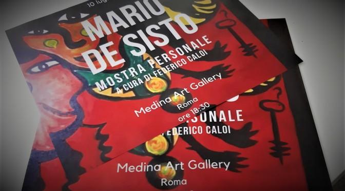 dal 10 luglio Mostra personale di Mario De Sisto allo Studio Medina