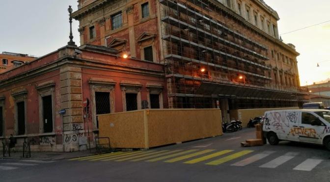 Iniziati i lavori di restauro della ex Zecca di Stato