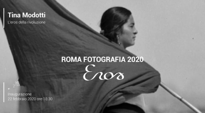 """Fino al 30 agosto 2020 """"Tina Modotti – l'Eros della Rivoluzione"""" Mostra fotografica al Palazzo Merulana"""