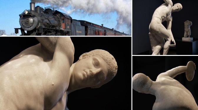"""Il """"Discobolo Lancellotti"""" una statua che ha viaggiato parecchio"""