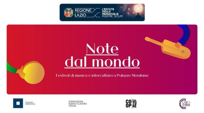 """""""Note dal Mondo"""" al Palazzo Merulana: il programma di settembre 2020"""