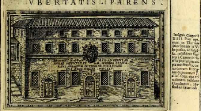 Le Terme di Diocleziano nel XVI e XVII secolo sono state utilizzate anche come granaio