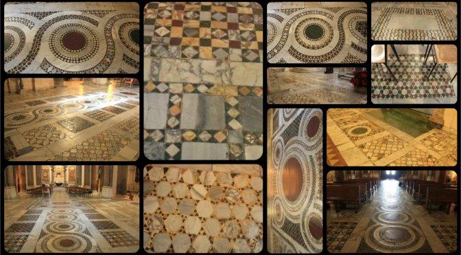 I pavimenti cosmateschi della Basilica di Santa Croce in Gerusalemme
