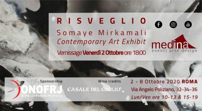 """2 – 8 ottobre 2020 """"Risveglio"""" mostra d'arte allo Studio Medina"""
