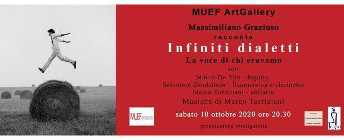 "10 ottobre 2020 ""Infiniti dialetti"" al Muef Art Gallery"