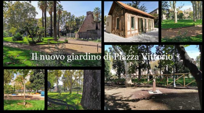 """31 ottobre 2020: Riapre il giardino """"Nicola Calipari"""" a Piazza Vittorio."""