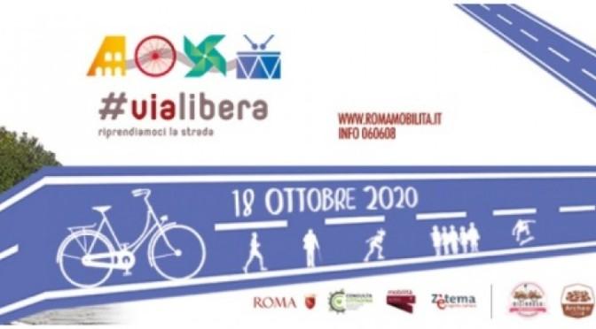 18 ottobre 2020 Torna #ViaLibera