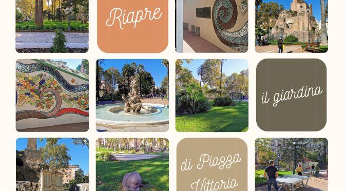 """Piazza Vittorio: Riaperto il giardino """"nicola Calipari"""". Le immagini e un pò di storia del giardino e degli edifici"""