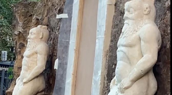 """Un filmato di """"Roma ieri oggi"""" sul giardino di Piazza vittorio poco prima della sua riapertura"""