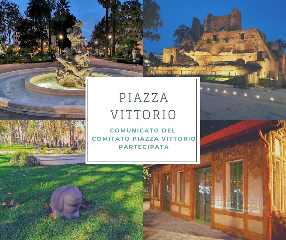 Il comunicato del Comitato Piazza Vittorio Partecipata (CPVP) relativo a notizie e approfondimenti sul giardino recentemente rinnovato