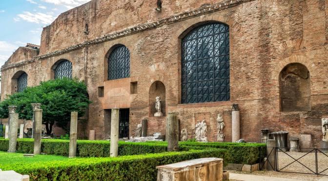 Un altro tesoro ritrovato nel secolo scorso nel sottosuolo del Rione Esquilino e conservato al Museo Nazionale Romano Terme di Diocleziano
