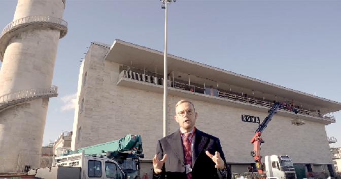 Dicembre 2020, il punto sulla  ristrutturazione dell'ex Cabina Ace della Stazione Termini