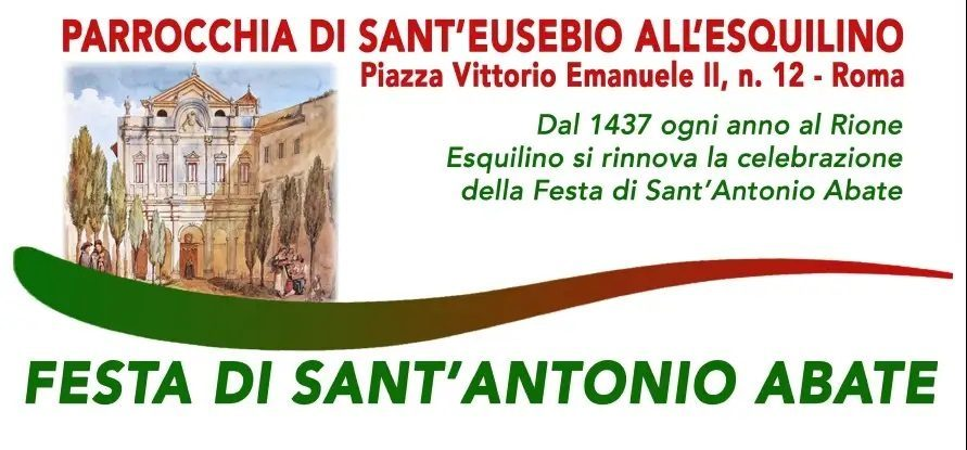 Gennaio 2021: Purtroppo la pandemia cancella la tradizionale benedizione degli animali domestici in occasione della festa di Sant'Antonio Abate
