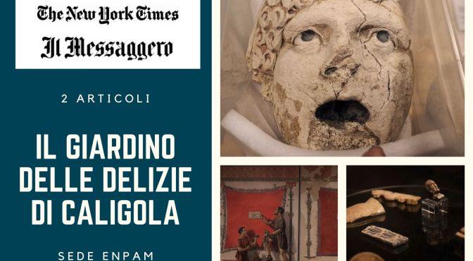 Filmati e articoli sul MUSEO DELLA VILLA DI CALIGOLA. Ormai prossima l'apertura non appena lo consentiranno le norme anti contagio