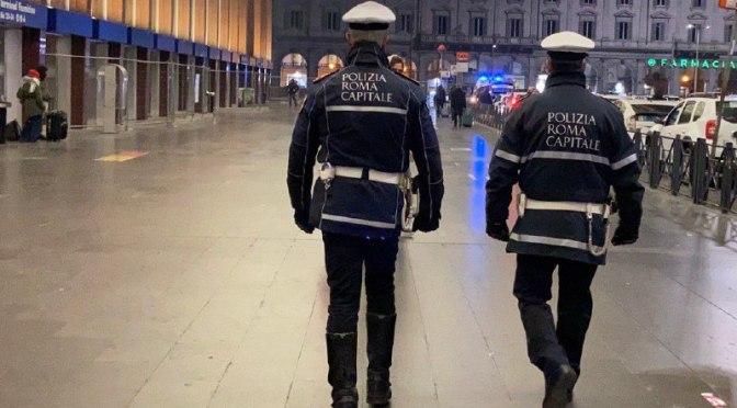 Controlli alla Stazione Termini, fermati tre furgoni: scattato il fermo dei mezzi e oltre 12mila euro di sanzioni per trasporto internazionale di merci irregolare