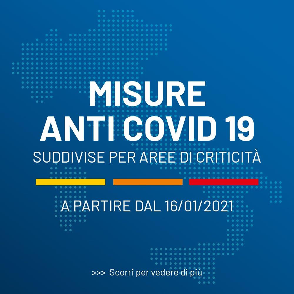 Il DPCM del 14 gennaio 2021: le infografiche e il testo originale con le nuove disposizioni anti contagio
