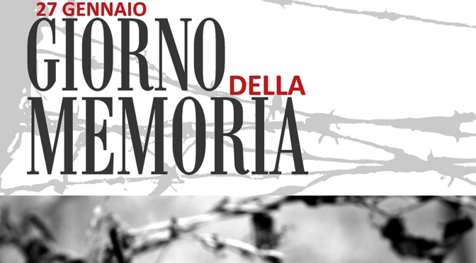 27 gennaio 2021: Giornata della Memoria