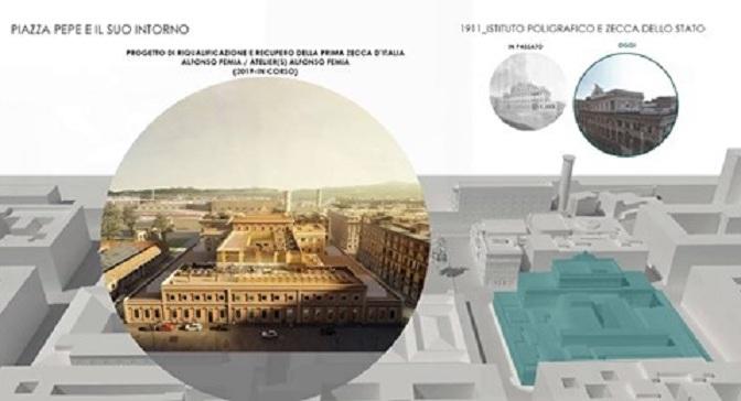 Una tesi di Laurea sulla riqualificazione della zona di Piazza Pepe: una base interessante per ulteriori spunti e idee
