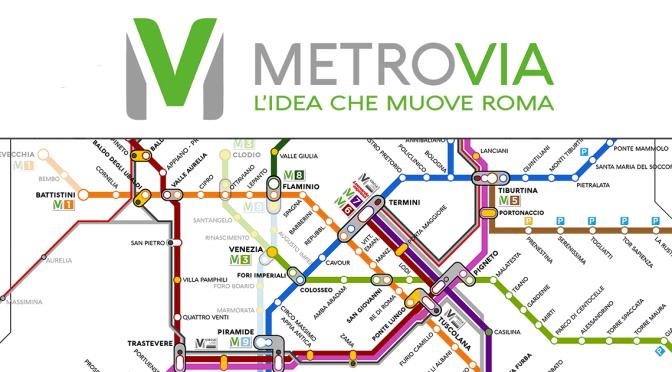E' online il nuovo sito di Metrovia: tutti i chiarimenti sul progetto di una mobilità sostenibile per la città di Roma