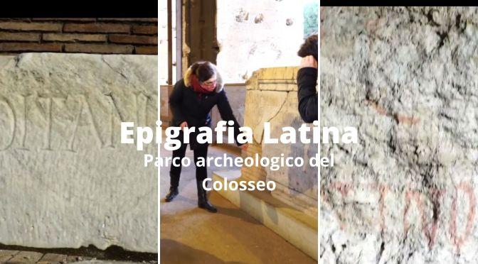 Lezioni di epigrafia latina al Colosseo