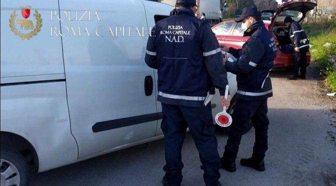 Inquinamento ambientale, operazione congiunta Polizia Locale di Roma e Napoli. Sequestrati oltre  un migliaio di sacchetti in plastica irregolari