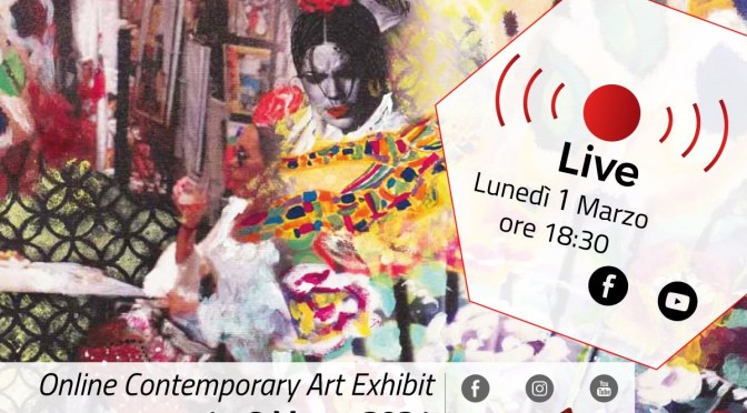 "1- 8 marzo 2021 ""Anima Animare"" Online Contemporary Art Exhibit allo Studio Medina"