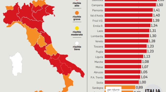 Da lunedì 15 marzo 2021 il Lazio  in zona rossa. Le infografiche con le nuove regole