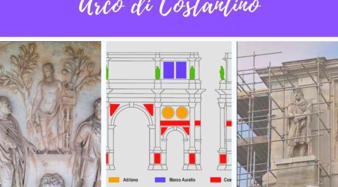 Il restauro dell'Arco di Costantino: curiosità e particolari quasi impossibili da vedere dal vivo parte I