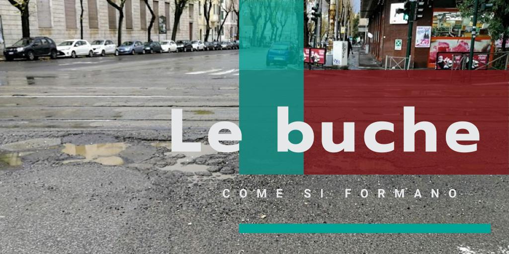 il fenomeno delle buche sulle strade spiegato in maniera semplice e divertente