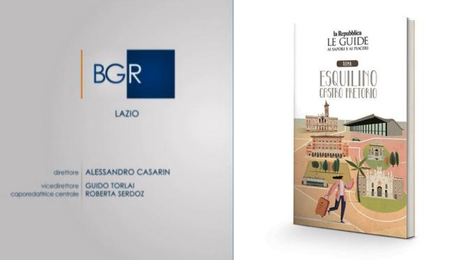 """Il servizio di """"Buongiorno Regione"""" del TG3 Lazio sulla Guida di  Repubblica sull'Esquilino"""