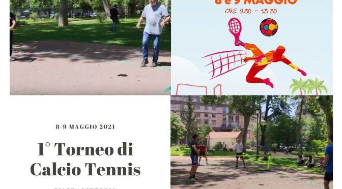 Il Video del Primo Torneo di Calcio Tennis che si è svolto nei giardini di Piazza Vittorio l'8 e il 9 maggio 2021