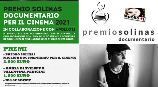 """Rinviata al 7 giugno 2021 la scadenza del concorso """"Premio Solinas documentario per il cinema"""""""